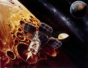 Drawing of Lunar Orbiter  1966.