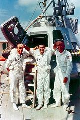 Apollo 12 astronauts  1969.