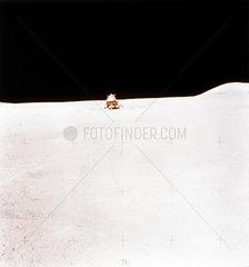 Apollo 15 Lunar Module on the Moon  August 1971.