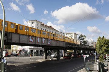 Life und U-Bahn in Berlin