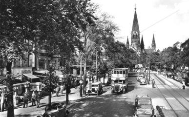 D-Berlin Kurfuerstendamm Gedaechtnis Kirche