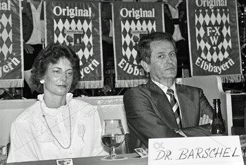 Uwe Barschel im SH-Wahlkampf