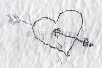 Herzschmerz-Symbolik