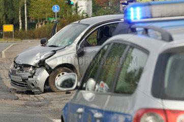 Verkehrsunfall in Bensberg