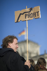 Occupy Protest  Berlin