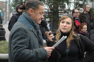 Demonstration Leerstand zu Wohnraum  Hamburg 29.10.2011