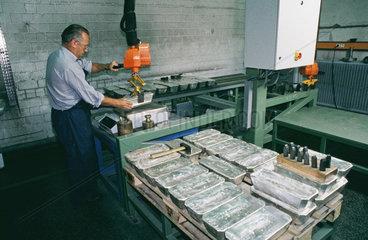Silber-Verarbeitung
