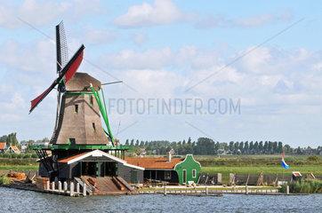 Windmuehlen - Museum Zaanse Schans
