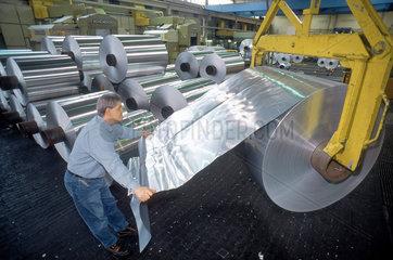 Aluminium-Herstellung