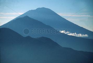 Drei Berge auf Bali
