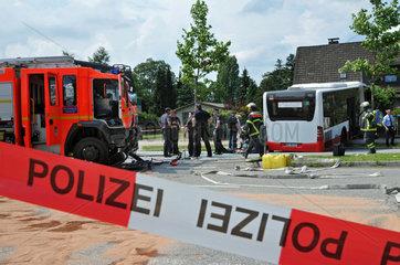 Verkehrsunfall B75