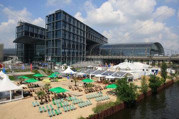 Strandbar am Berlin Hauptbahnhof
