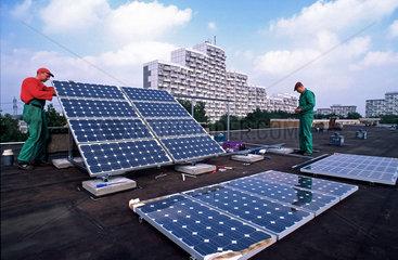 Solaraufbau