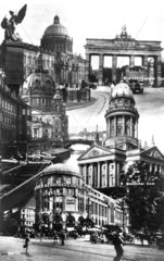 Berlin  Dom  Schloss  Brandenburger Tor Montage