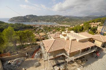 Neubauten oberhalb Port d'Andratx