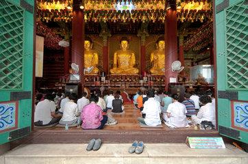 Buddhistischer Jogyesa-Tempel