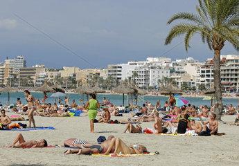 Strand von s'Arenal