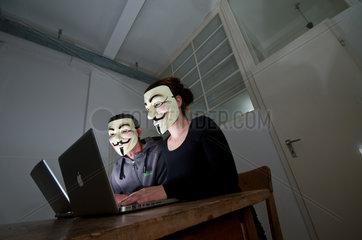 Anonymous-Aktivisten