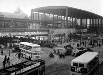 D-Berlin  Hauptbahnhof Zoo 1960