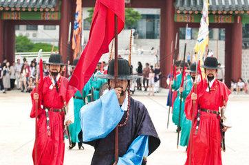 Korea - Wachwechsel