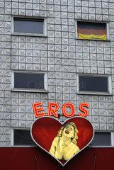 Eroscenter auf der Reeperbahn