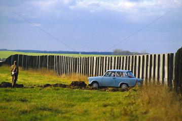 Der erste Trabant nach der Grenzoeffnung