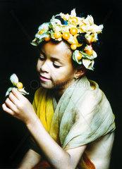 Kind Frucht Hut