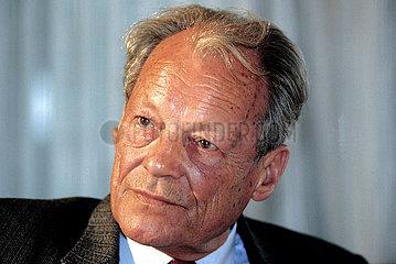 Willy Brandt Portrait