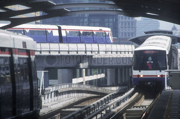 Sky-train in Bangkok