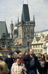 Karlsbruecke in Prag