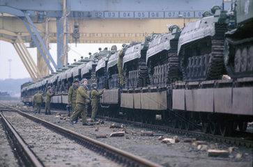 Abzug der Russischen Armee aus Deutschland