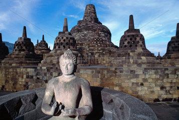 Indonesien-Borobodur