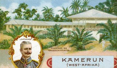 Kamerun  deutsche Kolonie  Gouverneur von Puttkamer  1898
