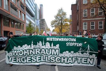 Demo gegen Mietsituation