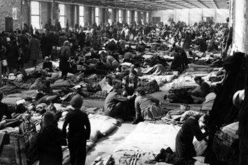 Fluechtlingslager in Westberlin 1960  Fluechtlinge aus der DDR
