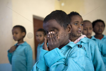School for the blind  Asmara  Eritrea