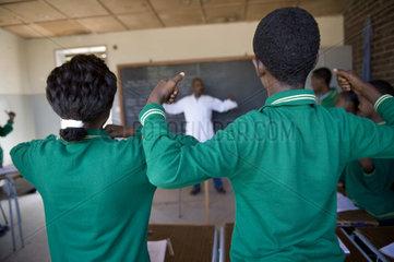 Deaf School  Keren  Eritrea