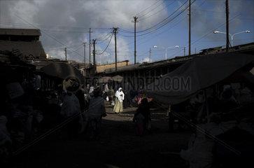 Medeber Market  Asmara  Eritrea