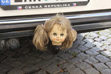 Puppenkopf in Prag
