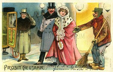 Prosit Neujahr  1903