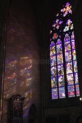 Glasfenster der St.-Veits-Dom