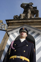 Ehrenwache in Prag
