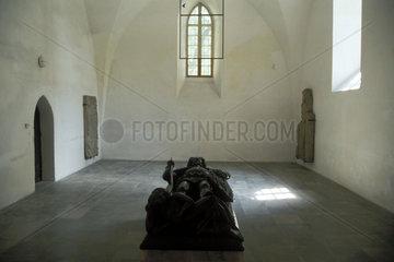 Grabmal in einer polnischen Kirche