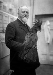 Ludwig Heck Mai 1928 kurz vor seinem 40 jaehrigen Dienstjubilaeum am 1. Juni