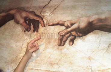 Michelangelo Creation Hand