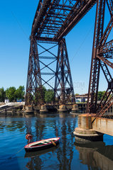The former ferry la Boca - Buenos Aires Argentina