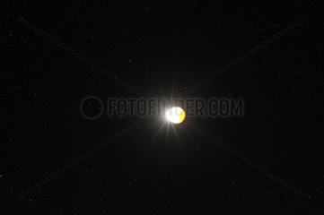 September 2015 lunar eclipse - Loire-Atlantique France