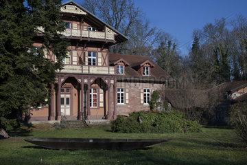 House of fish farming of the Petite Camargue Alsacienne  Saint-Louis  Haut-Rhin  France