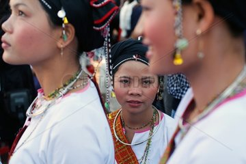 Dancers and musicians at Festival of Gongs Vietnam