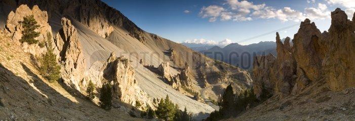 Casse deserte Izoard pass Queyras Alps France
